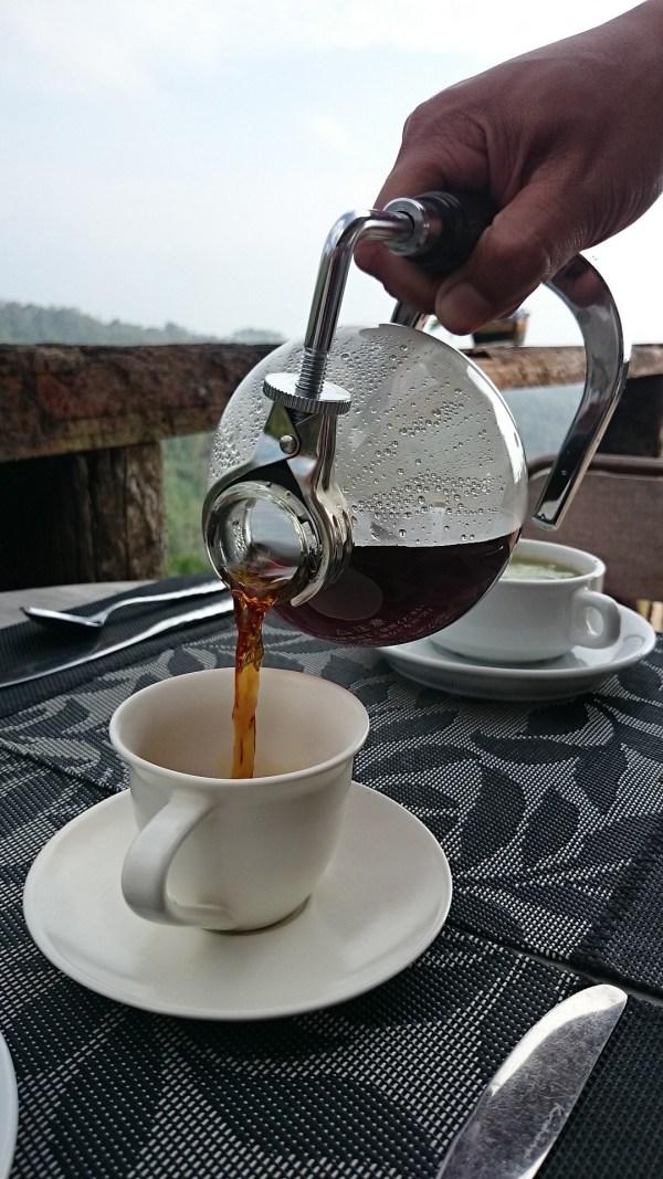 Freshly Brewed Civet Coffee
