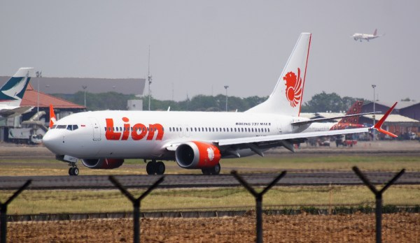 Lion Air photo via Wikipedia