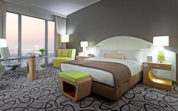 Luxury King Room at Sofitel Dubai Downtown