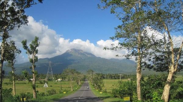 Mount Bulusan in Sorsogon