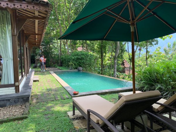 Pool Villa at Plataran Resort and Spa Borobudur