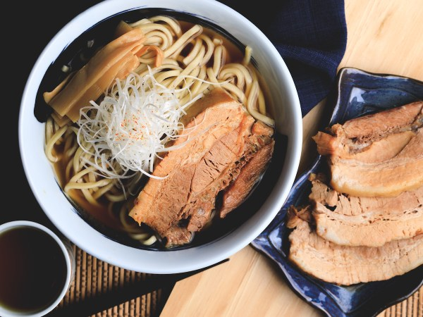 Chef Matsumura's famed The Sea Soy Soup from Osaka are also available at RAMEN CUBISM, featuring soup base made with Japanese favourite soy sauce and bonito (skipjack), complemented by a thick slice of tasty, top quality, slow-cooked pork
