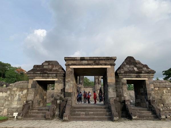 Ratu Boko in Yogyakarta