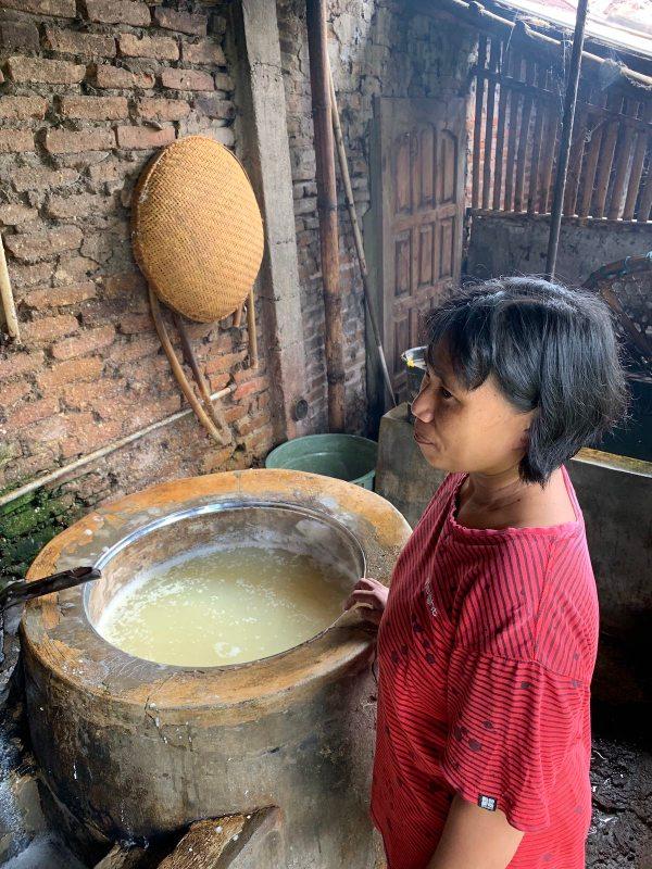 Tahu Maker in Borobudur