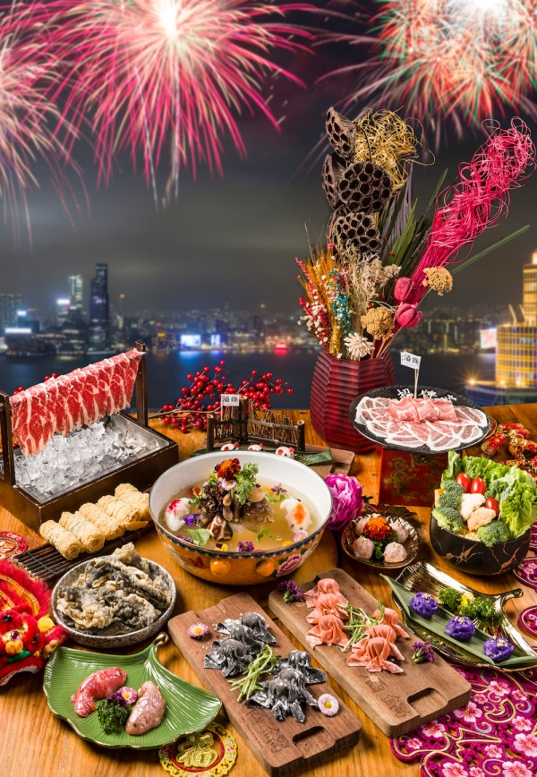 The Drunken Pot presents Chinese New Year delights and spectacular harbour view with fireworks at The Drunken Pot Causeway Bay