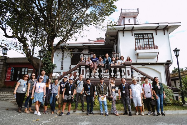 2019 Lakbay Norte Participants at Pamintuan Mansion by Mac Dillera