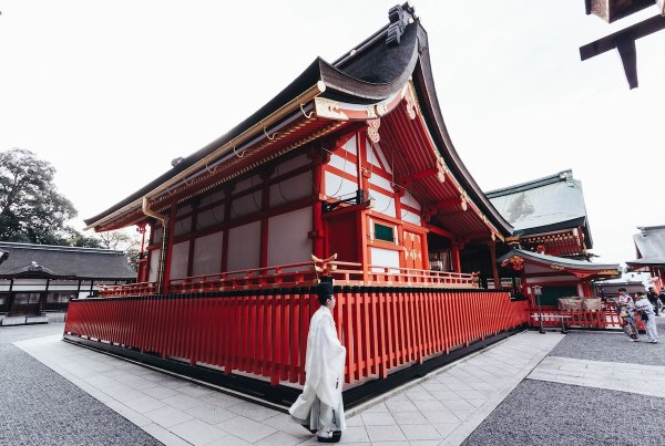 Fushimi Inari in Kyoto photo by Match Sumaya via unsplash