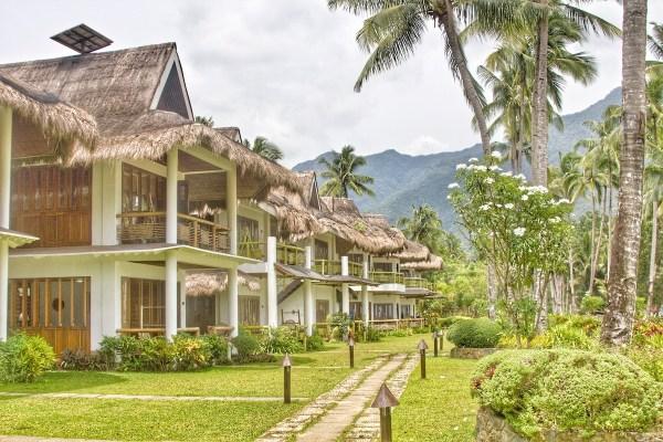 Green Luxury Daluyon beachfront cabanas