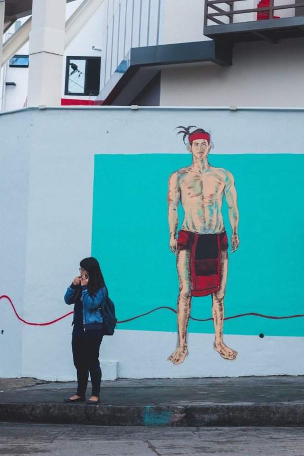 Instagrammable Murals in Baguio City photo by Krizza Mae Pacleb