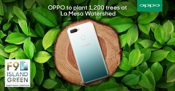 OPPO partners with Bantay Kalikasan to plant 1,200 trees at La Mesa Watershed