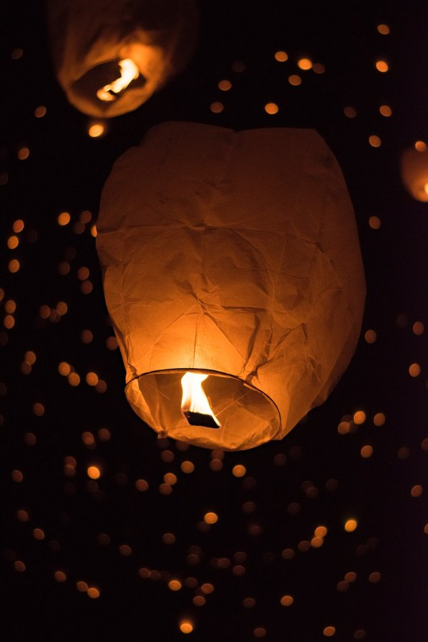 Taiwan Sky Lantern Festival photo by Sandra Seitamaa via Unsplash