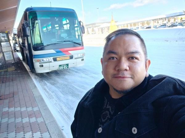 Arrival at Memanbetsu Airport