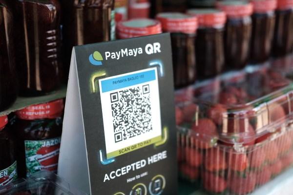 Baguio Pasalubong Shopping using PayMaya QR