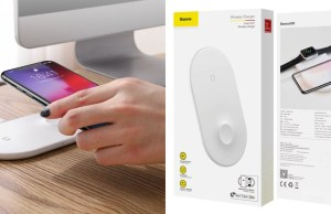 Baseus smart 2in1 Wireless Charger