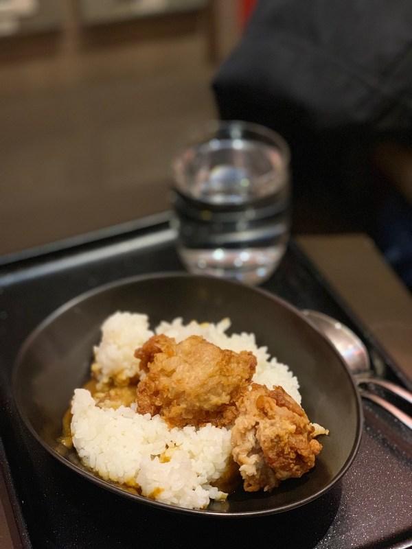 Curry and Karaage at Sakura Lounge Manila