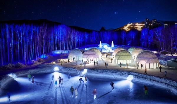 Hoshino Resorts Tomamu Ice Village in Hokkaido Japan