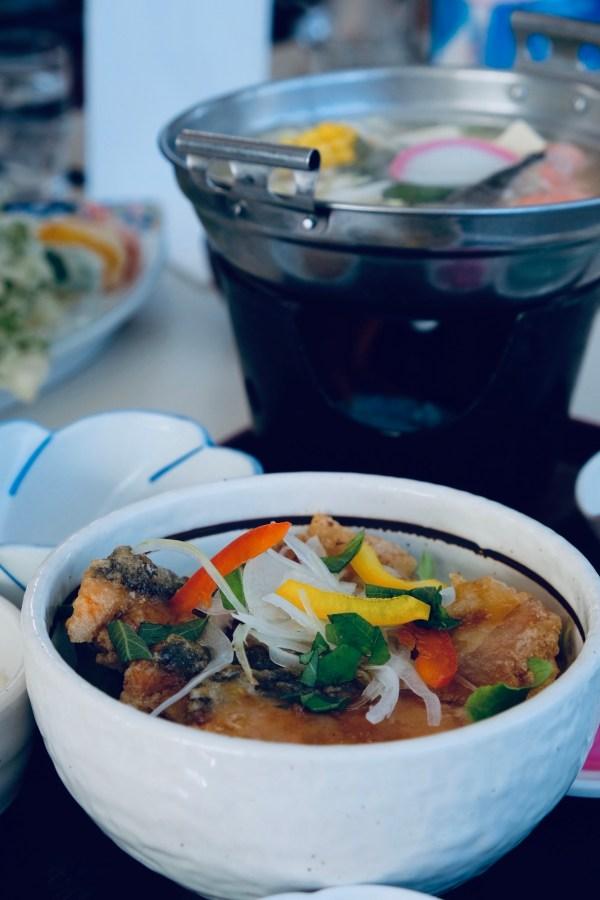 Hotpot Lunch at Okhotsk Bazaar Hokkaido