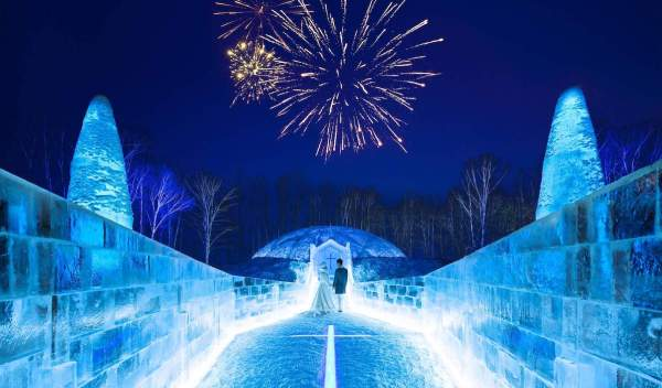 Ice Chapel photo by Hoshino Resorts
