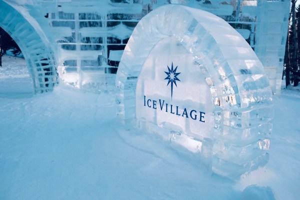 Ice Village in Hokkaido