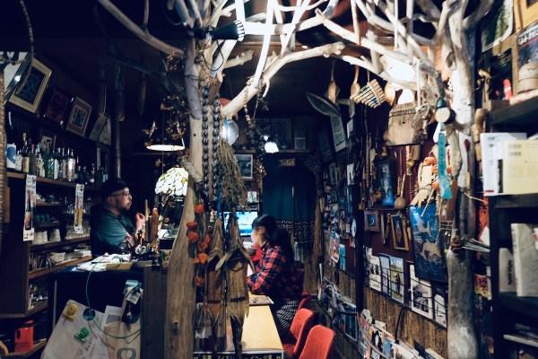 Inside Cafe Poronno