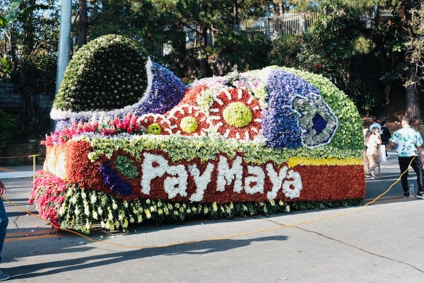 PayMaya Float Panagbenga Festival 2019
