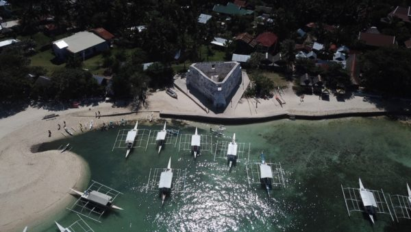 Spanish Port and Eating Area Pamilacan Island - by Fabian Encarnacion