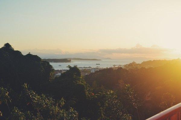 Sunrise in Raja Ampat by Ridho a Ibrahim via Unsplash