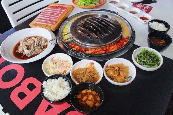 Unlimited Korean Side Dish