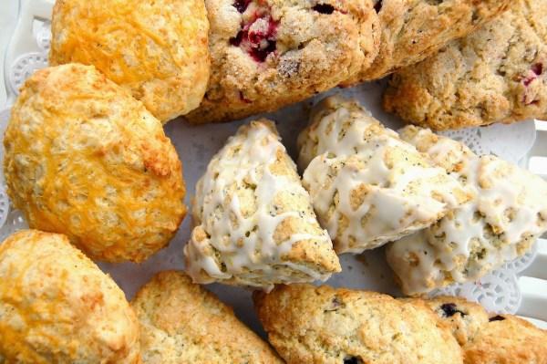 various scones