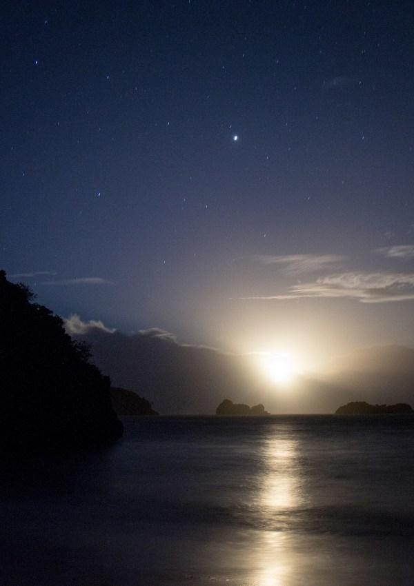 Camping under the stars at Caramoan Island. Photo by Ram Cambiado