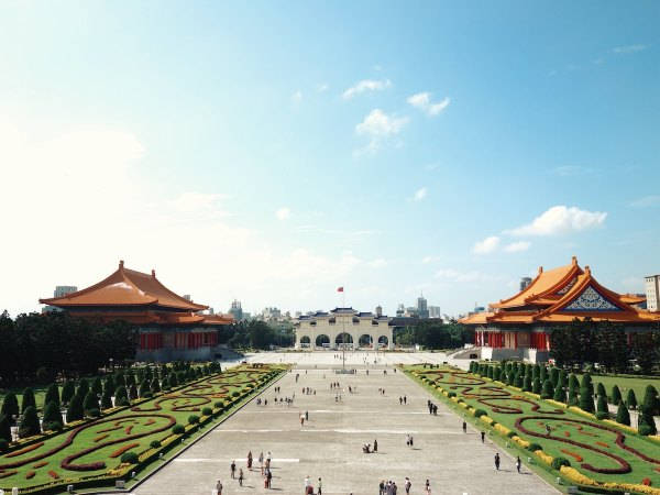 Chiang Kai-Shek Memorial Hall, Taiwan by Rovin Ferrer via unsplash