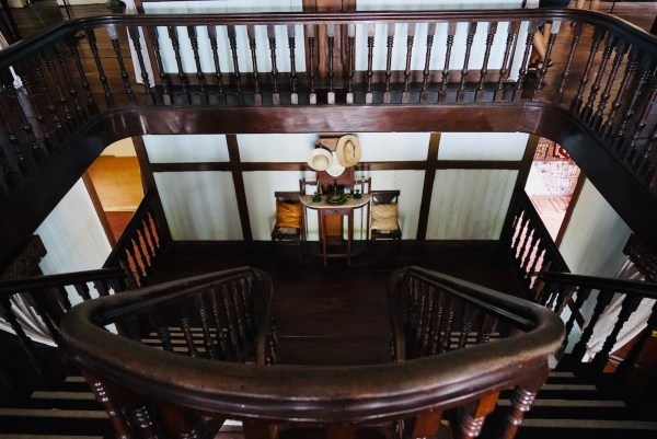 Grand Staircase inside Balay Negrense Museum in Silay City