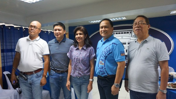 L-R Pateros Tourism Officer Ato Bade, Vice Mayor Gerald German, DOT Information Officer Catherine Agustin, Mayor Ike Ponce and Business Devt. Asst. Andy Concio