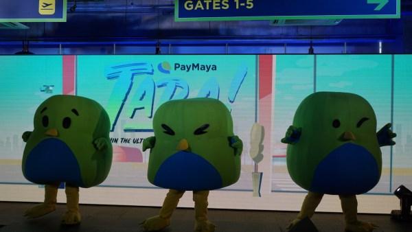 PayMaya Mascots