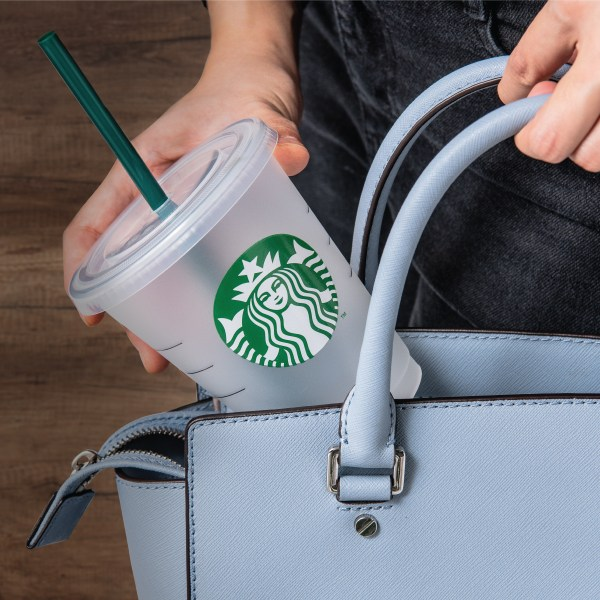 Starbucks Reusable Cold Cup with Reusable Straw