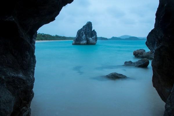 Stunning rock formations at Sabitang Laya Island. Photo by Ram Cambiado