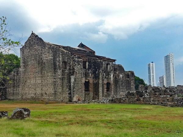 The ruins of Panama Viejo