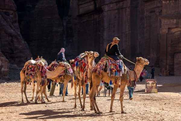Traveling to Petra Jordan