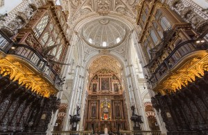 Altar Of Cordoba Cathedral