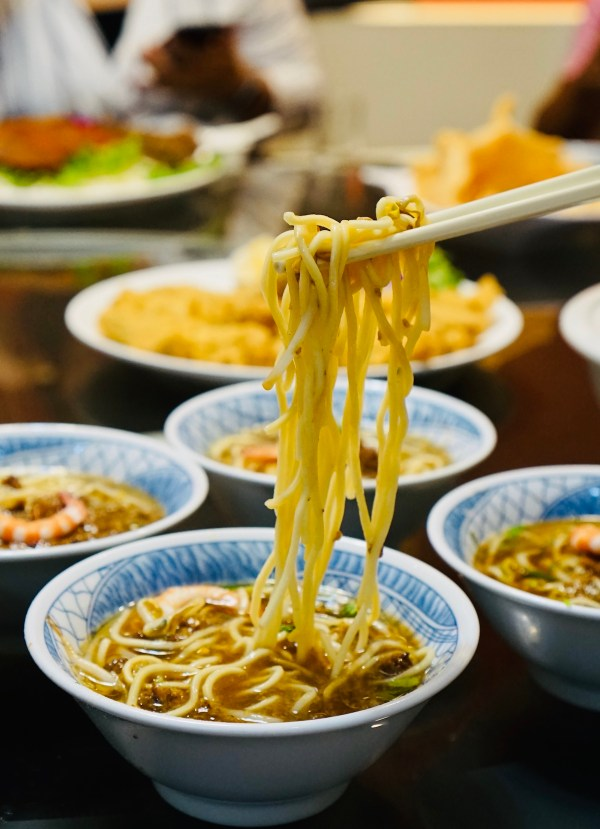 Danzai noodle in Tainan