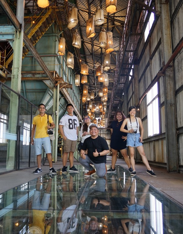 Filipino Travel Writers at Ten Drum Cultural Village in Tainan City
