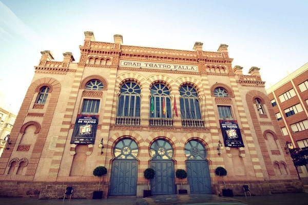 Gran Teatro Falla photo by Alfonso Jimenez via Wikipedia CC