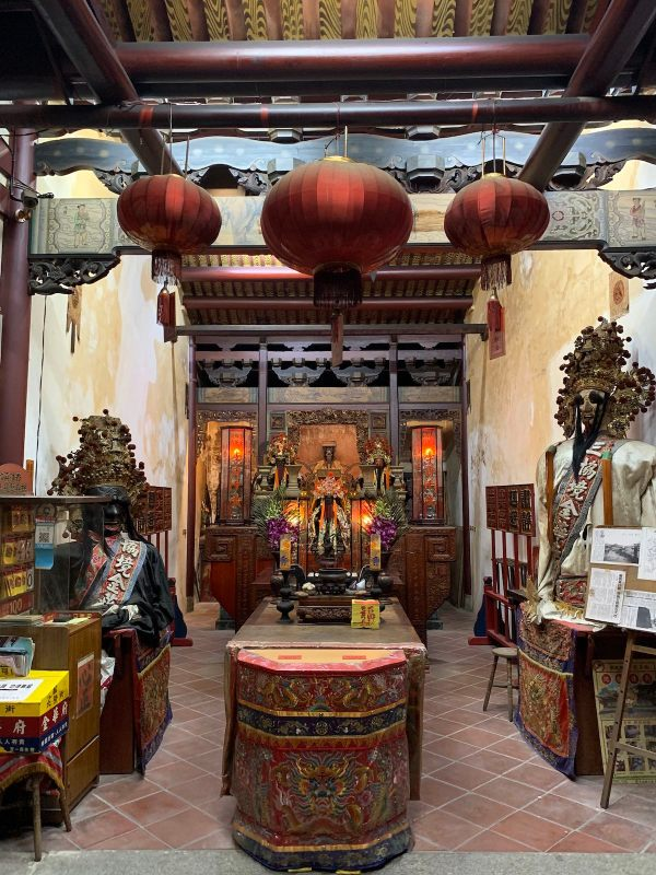 Inside Jinhua Temple in Tainan