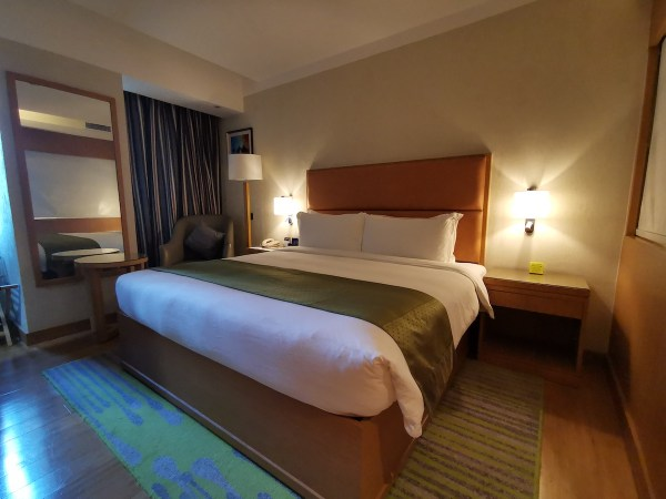My room at Holiday Inn Baguio City Centre
