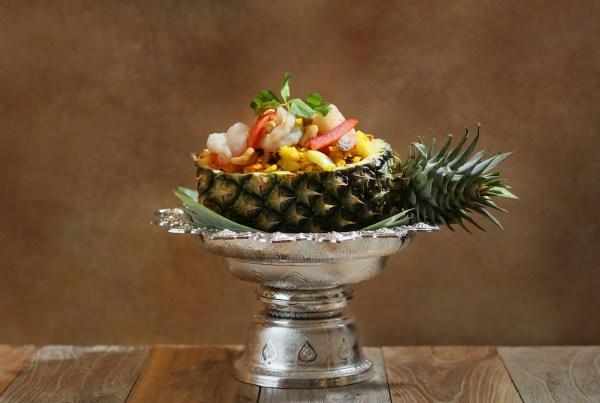 Thai Style Pineapple Fried Rice Thai Flavours Land at Marco Polo Ortigas Manila
