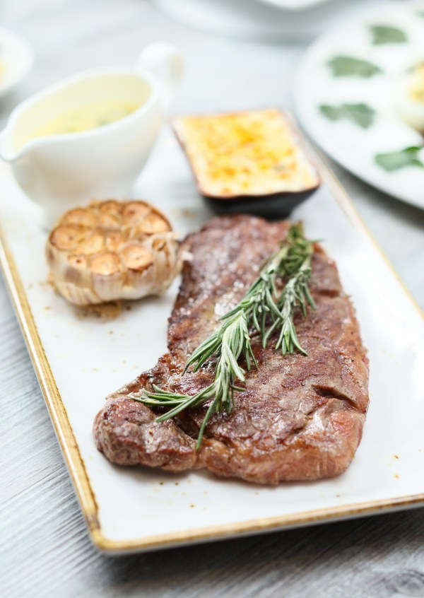 Wagyu Beef with Herbs Butter and Bearnaise