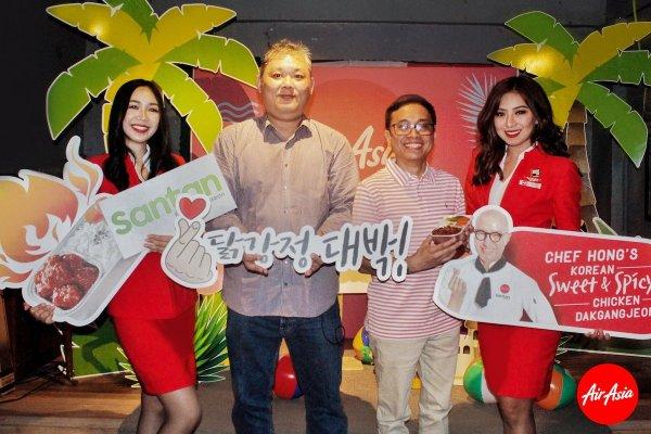 William Tan, Regional Head of Inflight Food & Beverage, Karlo Sanchez, Head of Ancillary