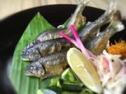 Fresh water sweet fish is best served as a yakimono dish!