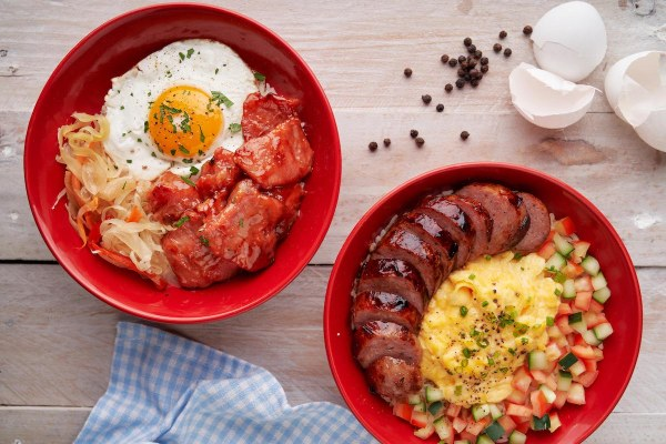 Rice Bowl All Day Breakfast Meals at Rojo Coffee