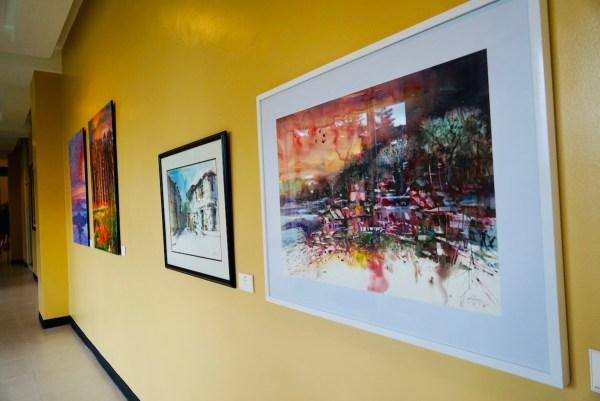 Taal Vista Hotel Art Exhibit